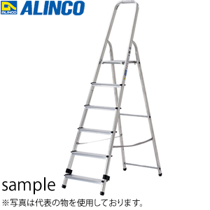 ALINCO(アルインコ) アルミ製 踏台(上わく付専用脚立) TBF-4 [配送制限商品]
