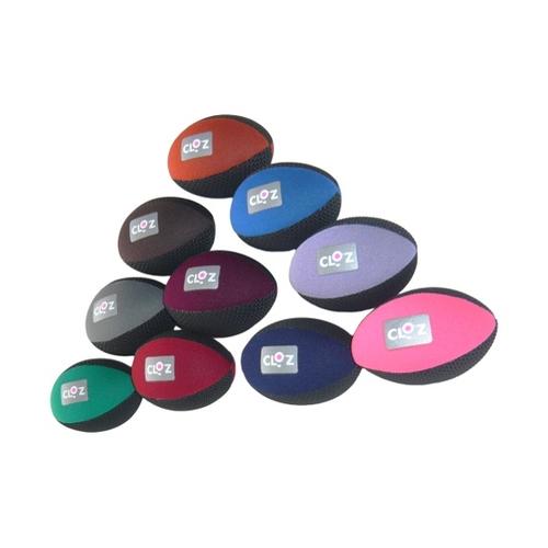 アズワン クロッツ やわらか健康ボール ラグビー型 10色セット HC-036 1ケース(10個入り) [61-9950-84]