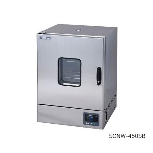 アズワン 定温乾燥器(自然対流方式) ステンレスタイプ・窓付き 左扉 1台 [1-9001-52]