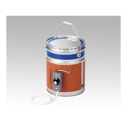 アズワン ペール缶用(20L)ヒーター ワンタッチ締付け金具式 1枚 [1-135-12]