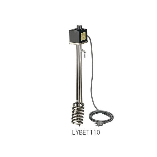 アズワン サーモスタット付投込みヒーター 特殊耐蝕鋼チタン 1kW 1本 [1-8024-11]