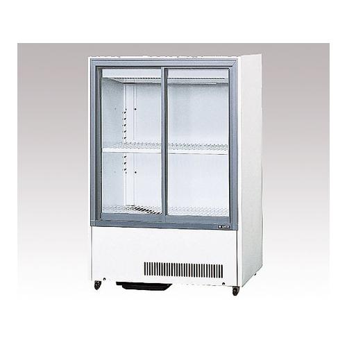 アズワン 冷蔵ショーケース 680×483×645mm 1台 [1-4459-06] [個人宅配送不可][送料別途お見積り]