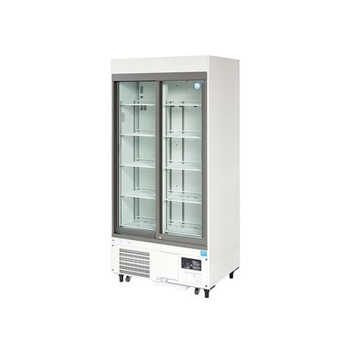 アズワン 薬用冷蔵ショーケース 900×650(700)×1917mm 1個 [1-5460-31] [個人宅配送不可][送料別途お見積り]