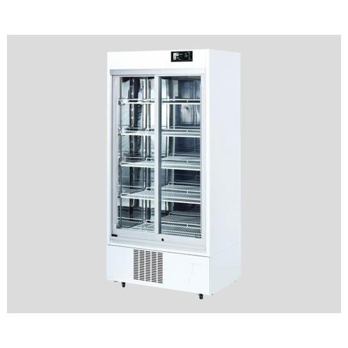 アズワン 薬用冷蔵ショーケース 550L 1台 [2-1199-01] [個人宅配送不可][送料別途お見積り]