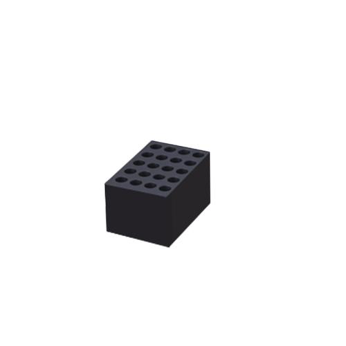 アズワン ブロックバス用アルミブロック 1個 [1-1586-17]