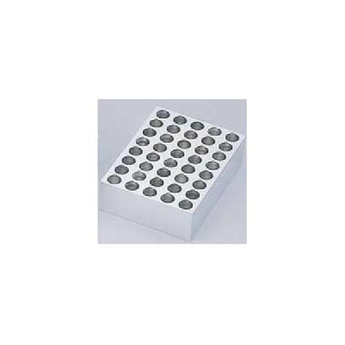 アズワン 超低温アルミブロック恒温槽(クライオポーター)用 クライオチューブ×40穴 1個 [1-7324-06]