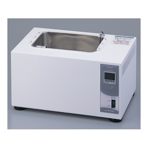 AS ONE テレビで話題 汎用科学機器 定温 恒温機器 送料無料新品 液相定温 CTB-2 ペルチェ式 アズワン 低温恒温水槽 2-7824-02 3.0L 1台