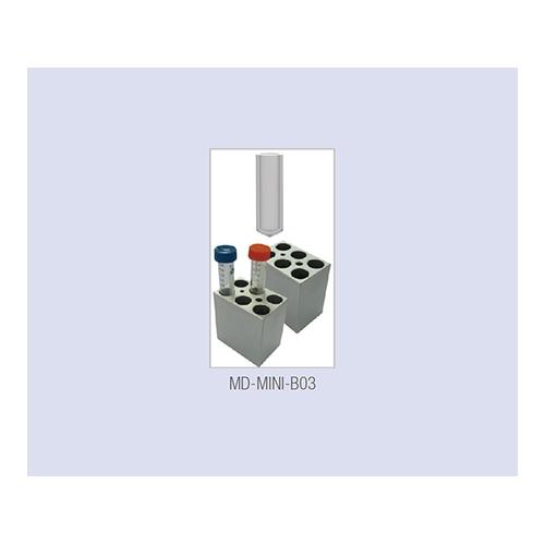 アズワン ミニブロックバス(ビーズ・ウォーターバス兼用)用 ブロック 15mlPCRチューブ 6本用 1個 [2-9528-14]