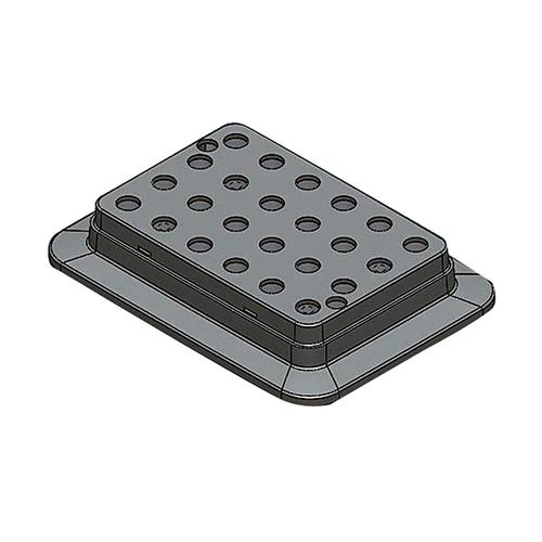 アズワン ブロックバスシェーカー 0.5mL用ブロック 1個 [3-7036-11]
