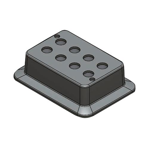アズワン ブロックバスシェーカー 5mL用ブロック 1個 [3-7036-14]