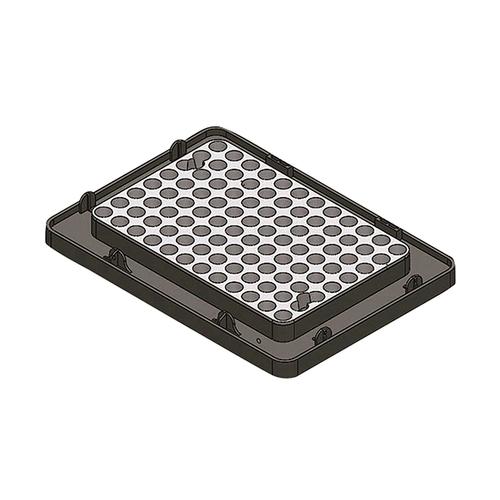 アズワン ブロックバスシェーカー 0.2mL/96PCRプレート 1個 [3-7036-17]