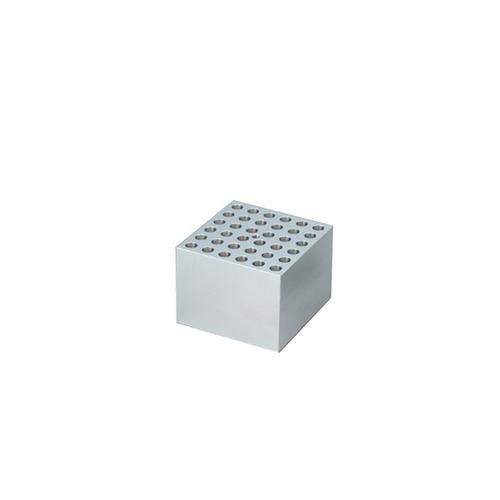 アズワン ドライブロックバス用アルミブロック 試験管12mm 36本用 1個 [1-4155-03]
