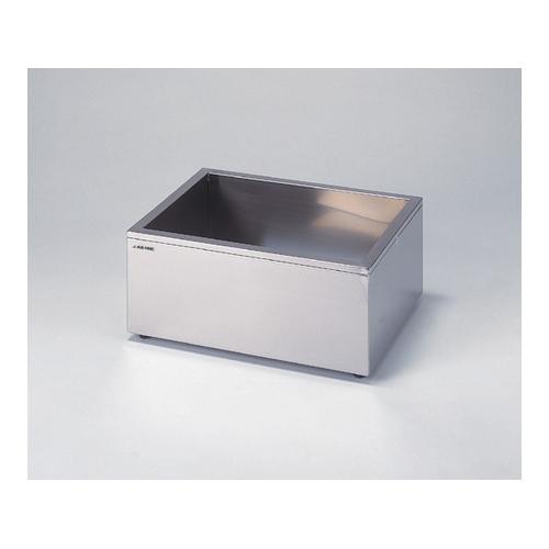 アズワン ステンレス水槽 角型(SUS304・断熱材入り) 12.6L 1個 [1-4163-01]