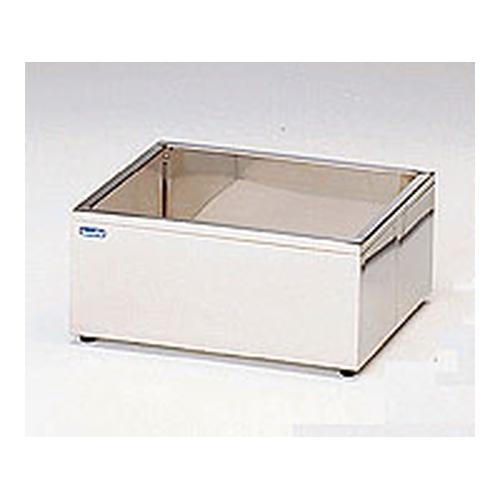 アズワン ステンレス水槽 角型(SUS304・断熱材入り) 18L 1個 [1-4163-02]