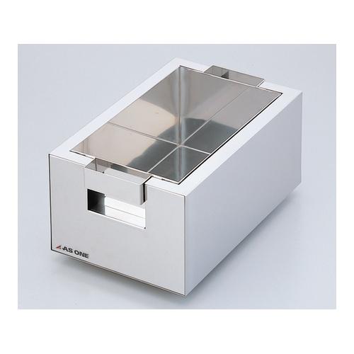 アズワン ステンレス水槽 角型 10L 取手付き 1個 [1-4312-01]