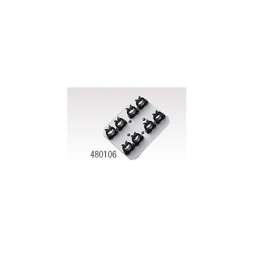 アズワン ボルテックスミキサー水平保持アタッチメント 15mLチューブ×4本 1個 [1-2235-17]