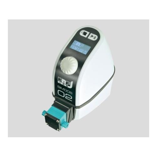 アズワン 耐食型ダイアフラム定量ポンプ(SIMDOS02) 20mL/min 1台 [1-5312-21]