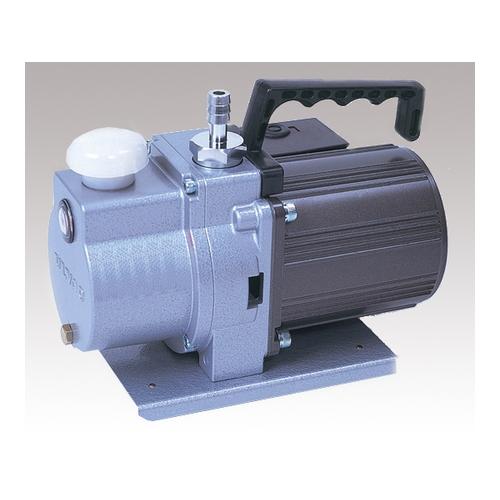 格安人気 1台 二段式 アズワン [1-672-28]:セミプロDIY店ファースト 130×203×159.5mm 油回転真空ポンプ(小型直結型)-DIY・工具