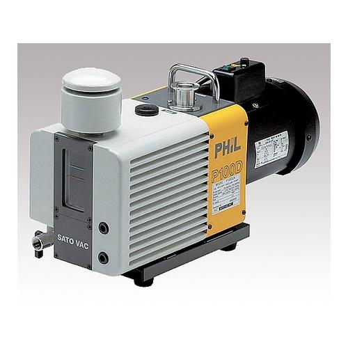 アズワン 直結型油回転真空ポンプ(ラムダ) 100L/min・120L/min 1台 [1-8787-02]