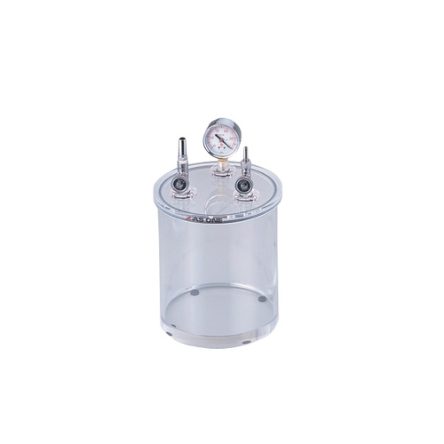 アズワン アクリル小型真空容器 φ215×335mm 1個 [2-7875-01]
