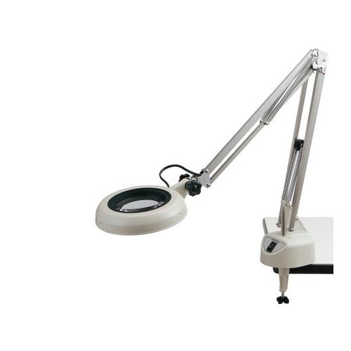 アズワン LED照明拡大鏡(フリーアーム・クランプ取付) 10× 1台 [2-3094-15]
