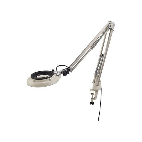 格安SALEスタート! アズワン LED照明拡大鏡(フリーアーム・クランプ取付) 4× 1台 [2-3095-12], イワデヤママチ 14f99b87