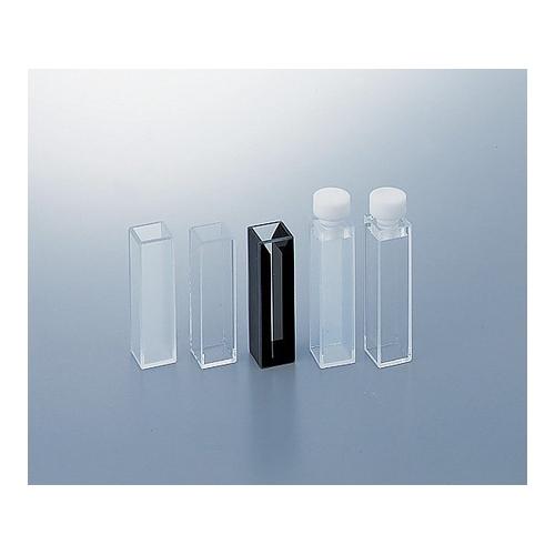 アズワン 石英標準セル(テフロン(R) 栓付き蛍光全面透明) 1個 [2-476-06]