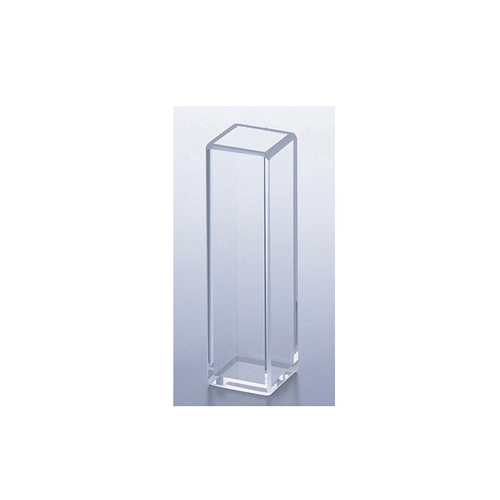 アズワン 分光光度計用標準石英セル(全面透明) 1個 [2-7644-04]