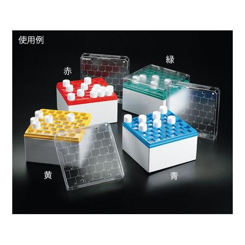 アズワン クライオストレージボックス Cryostore(TM) 赤 5個入 1パック(5個入り) [3-8638-03]