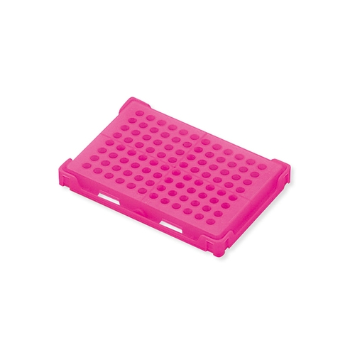 アズワン PCRラック ピンク 本体×20個入 1箱(20個入り) [1-4309-05]