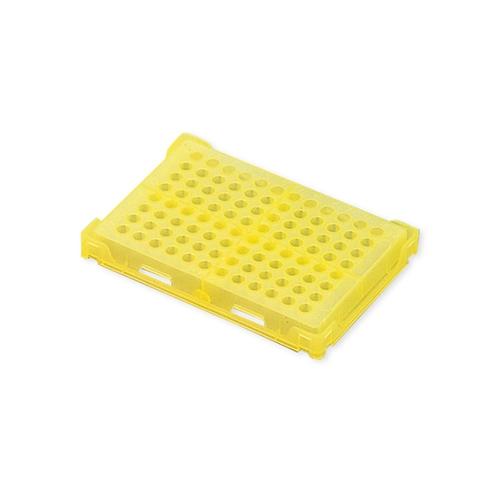 アズワン PCRラック 黄 本体×20個入 1箱(20個入り) [1-4309-06]