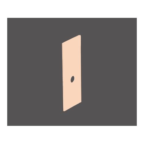 アズワン CytoSep Cytology Funnel(シングルタイプ)用 ブラウン紙単体 200枚入 1箱(200枚入り) [3-091-14]