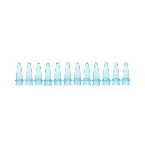 アズワン PCRチューブ 12連0.2mL 青 125本入 1袋(125本入り) [3-8625-04]