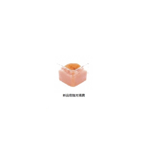 アズワン 新品樹脂充填費(イオン交換樹脂式カートリッジ純水器IRI-5用) 1個 [1-3705-11]