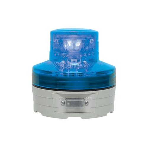 アズワン 電池式回転灯 φ76 ニコUFO(青) 手動 1個 [61-9996-99]
