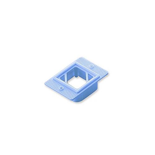 アズワン 包埋リング 1000個入 青 1箱(250個×4袋入り) [2-4884-05]
