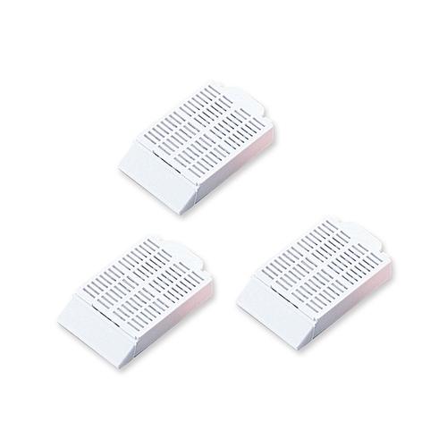 アズワン 包埋カセット 1500個入 白 1箱(500個×3袋入り) [2-4887-01]