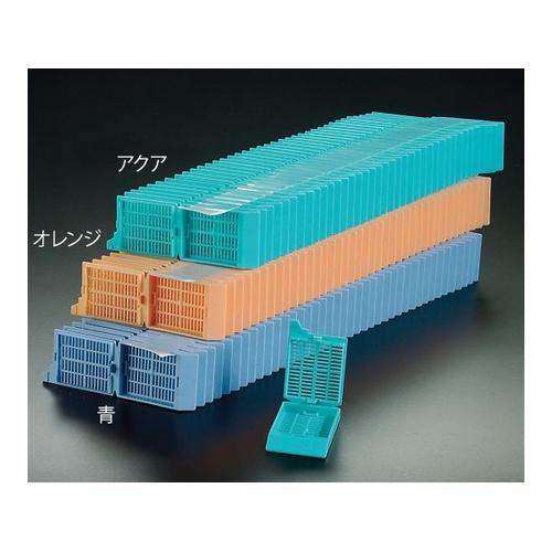アズワン 包埋カセット(スタックタイプ) ピンク 40個×25連入 1箱(40個×25連入り) [3-8649-02]