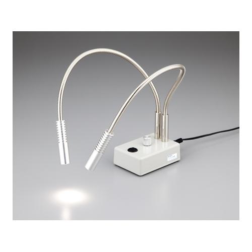 アズワン LEDライト ダブルアーム・調式タイプ 1個 [1-4227-01]