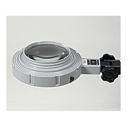 アズワン LED照明拡大鏡(スタンドタイプ100型) 1台 [1-5607-03]