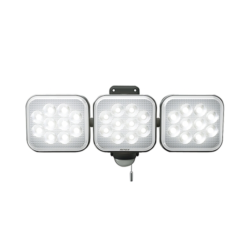 アズワン LEDセンサーライト 3000ルーメン 1個 [3-8150-03]