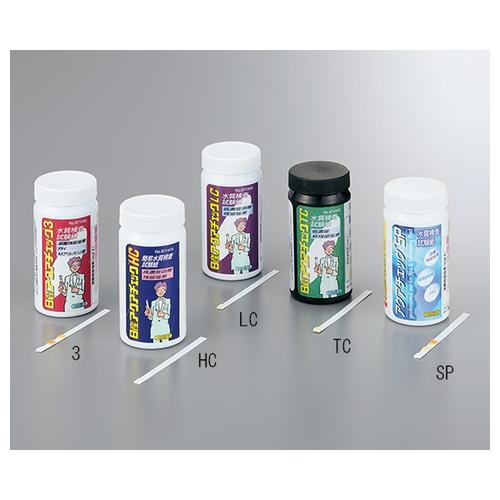 アズワン 残留塩素試験紙 1箱(100枚×6本入り) [1-7359-04]