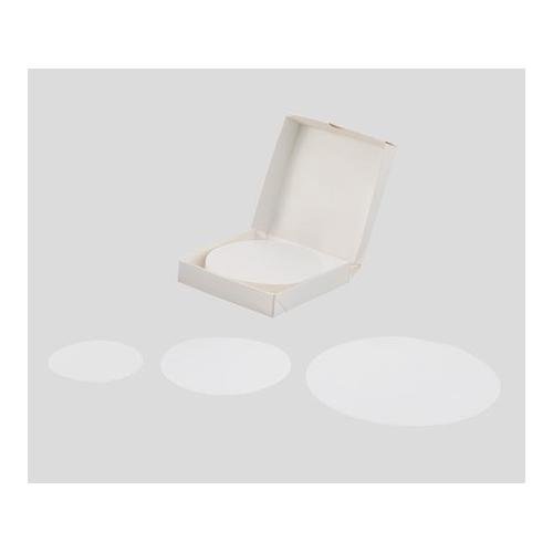 アズワン ガラス繊維濾紙(アズフィル) 円形 9.0cm 50枚入 090070N-SPGFF 1箱(50枚入り) [2-855-10]