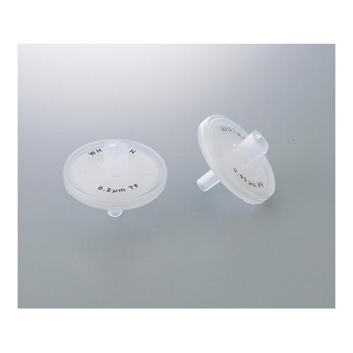 アズワン シリンジフィルター PTFE 0.45μm 1箱(50個入り) [2-4039-02]