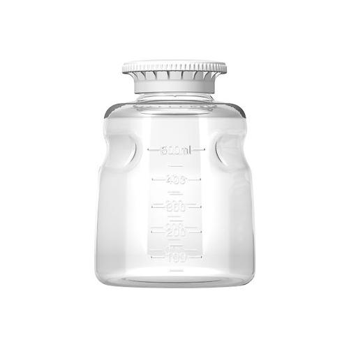 アズワン オートフィル保管ボトル PS製 500mL 24個入 1箱(24個入り) [3-9981-02]