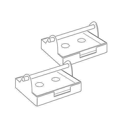 アズワン ビオラモ汎用遠心機バケット(TS-4C用) 1個 [2-7166-13]