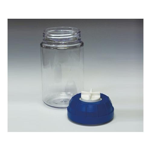 アズワン 遠心瓶(シーリングキャップ付き) PC製 1000mL 1袋(6本入り) [1-5545-03]
