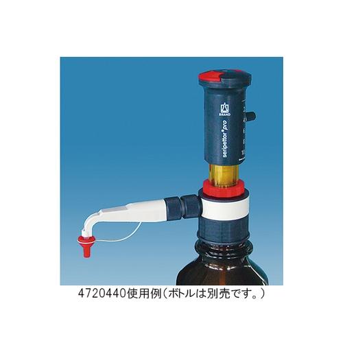 アズワン ボトルディスペンサー Seripettor Pro 容量2.5~25mL 目盛0.5mL 1セット [3-6061-02]