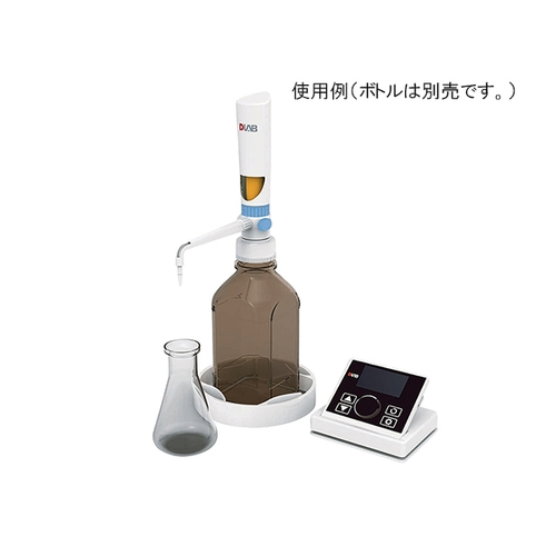 アズワン ボトルトップディスペンサー 電動タイプ 0.1~99.9mL 1個 [3-7031-01]