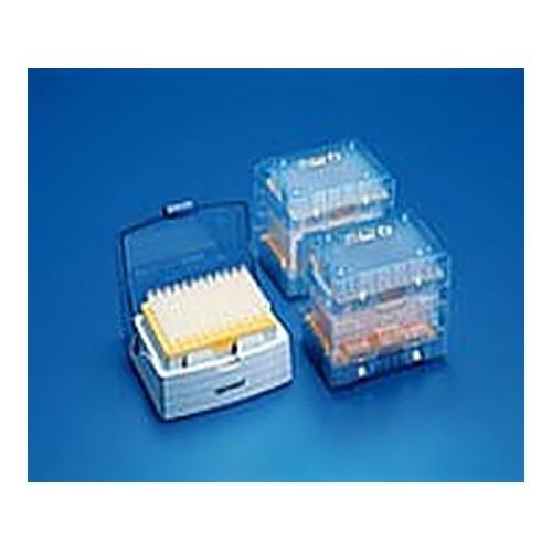 アズワン ピペットチップ(epTIPS) セット 50~1250μL 96本/トレー×4+ボックス1個 1箱(96本×4トレイ入り) [2-4873-06]